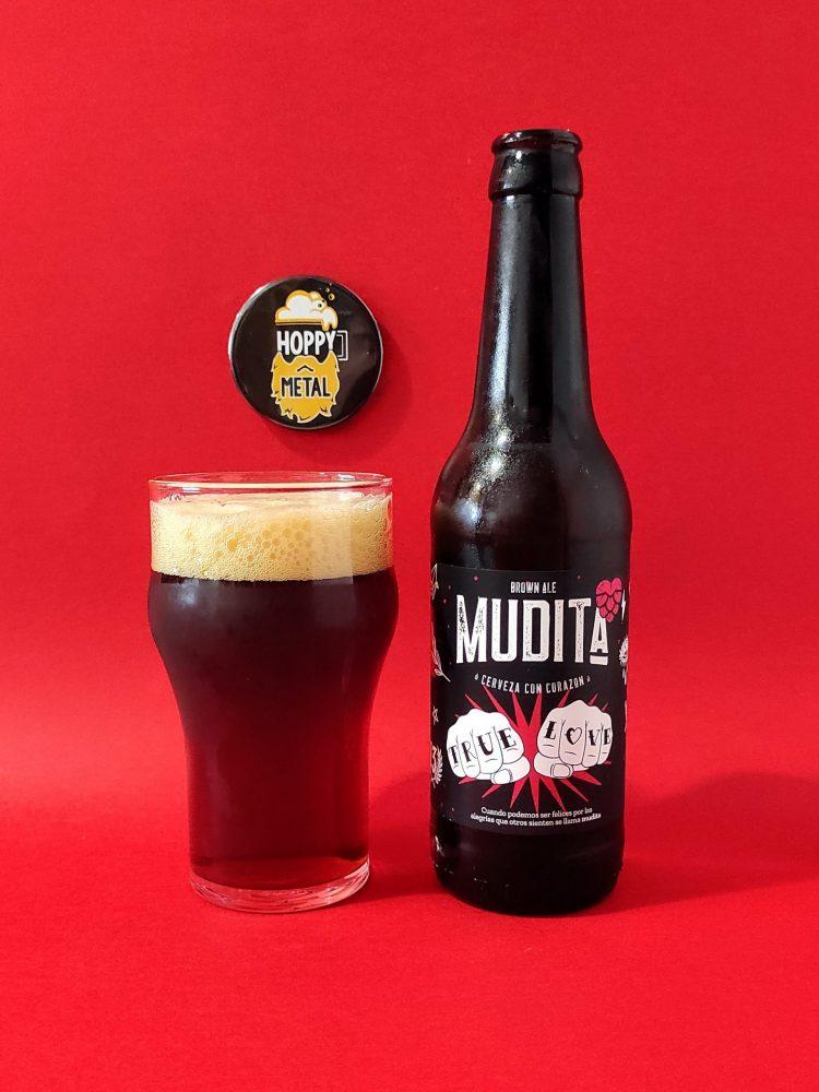 hoppymetal mudita brown ale
